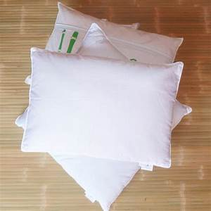 bamboo filled pillow 65x65 cm couette et nature shop With bamboo filled pillows
