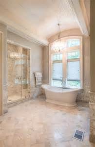 Ideas For Bathroom Floors 29 White Marble Bathroom Floor Tile Ideas And Pictures