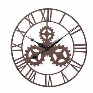 Kct, Vintage, Gear, Design, Wall, Mounted, Clock