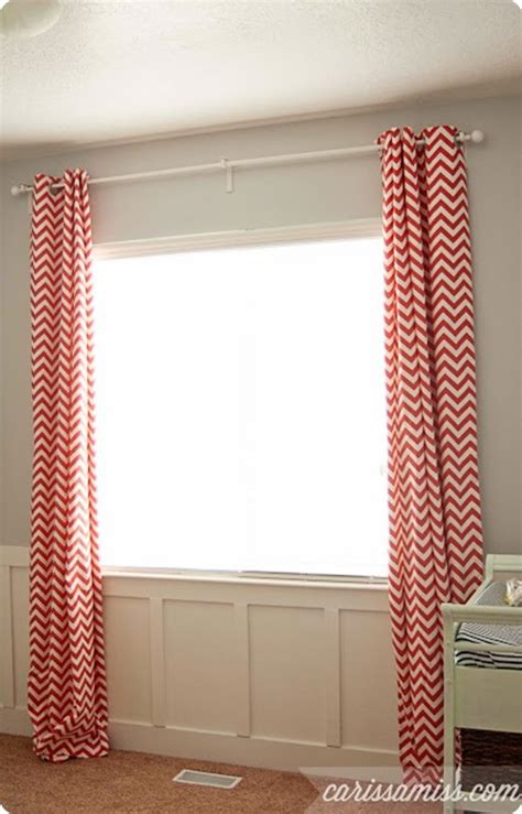 sew your own custom lined curtains