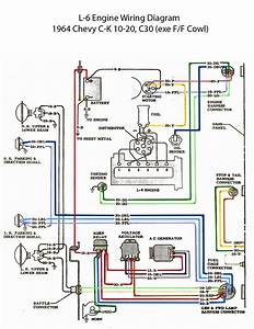 Electric  L-6 Engine Wiring Diagram