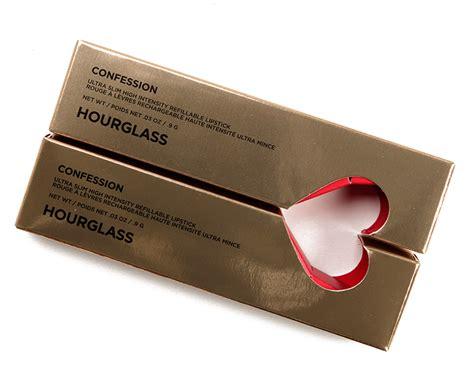 Hourglass Valentine's Day 2019 Confession Lipstick Set