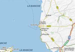 Michelin Karten Frankreich : karte stadtplan granville viamichelin ~ Jslefanu.com Haus und Dekorationen