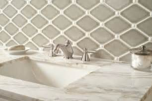 dove gray diamond mm tile backsplash bathroom diamond