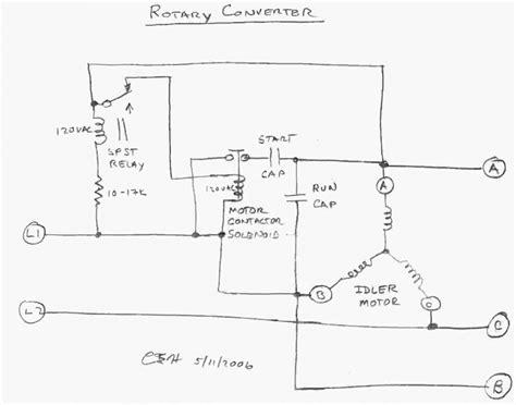 Get Phase Rotary Converter Wiring Diagram Download