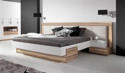 chambre contemporaine lit design white lit moderne 2 personnes chambre