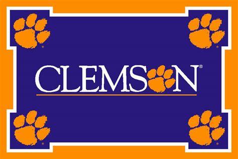 Clemson Tigers Football Wallpaper Clemson University Images Clemson Print Hd Wallpaper And