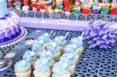 mermaid inspired party birthday party ideas themes