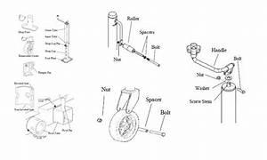 Wiring Diagram  33 Bulldog Trailer Jack Parts Diagram