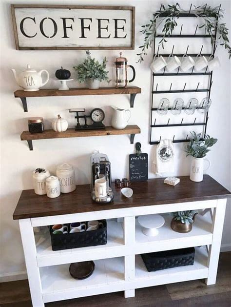 Coffee bar / coffee station do you have a coffee bar/coffee station in your kitchen? 30+ Best Home Coffee Bar Ideas for All Coffee Lovers