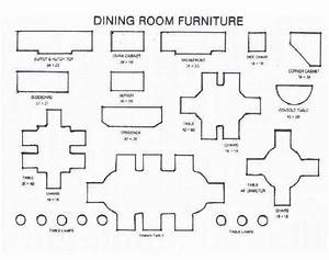 Furniture Templates 1  4 Inch Scale