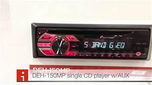 Ces 2013 Pioneer Deh-150mp Single Cd Player W  Aux Input Las Vegas