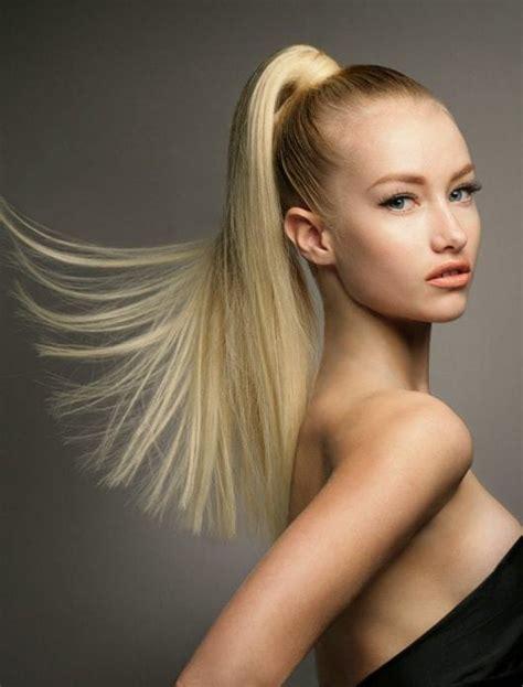 beautiful high ponytail hairstyles    hair shine