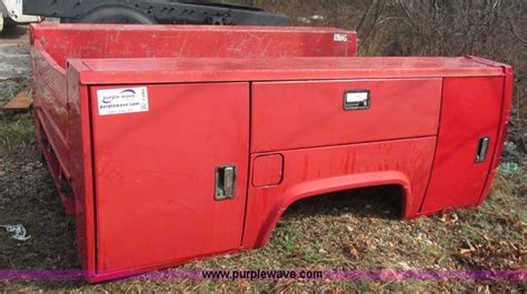 Stahl Utility Bed by Vehicles And Equipment Auction In Topeka Kansas By Purple