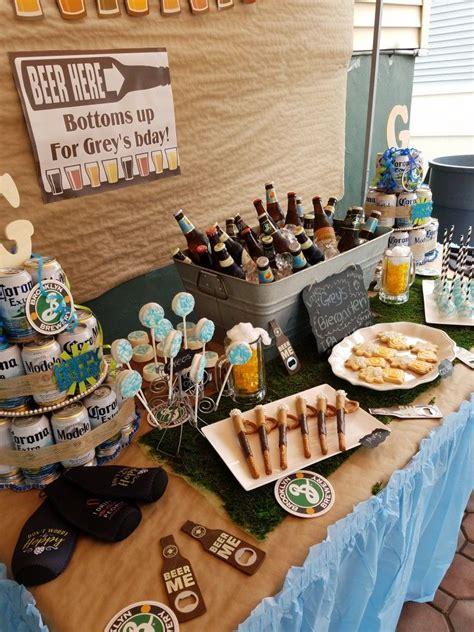 beers  cheers birthday party theme beer tasting