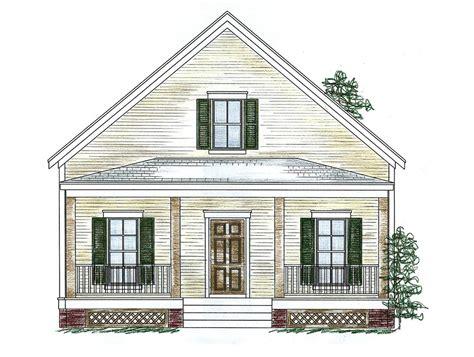 Three Bedroom Cottage 9754AL Architectural Designs