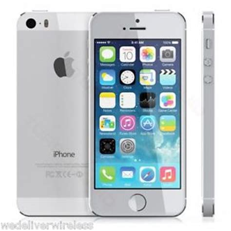 iphone on metro pcs apple iphone 5s t mobile metro pcs 16gb silver clean imei