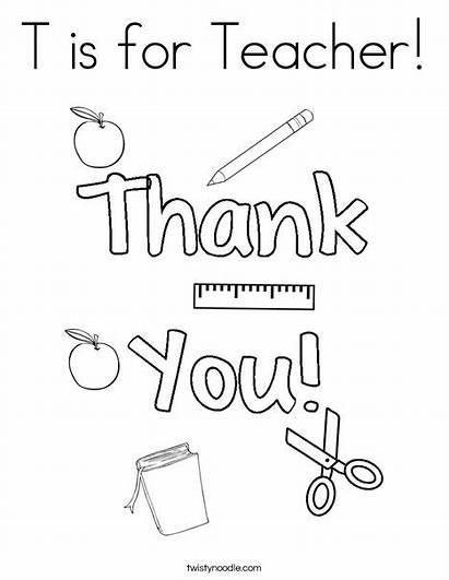 Teacher Coloring Pages Noodle Appreciation Twisty Ll