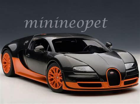 Autoart 70936 Bugatti Veyron Super Sport Model Car Black