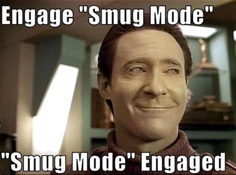 Smug Meme Face - the taste of smug the platypus directive