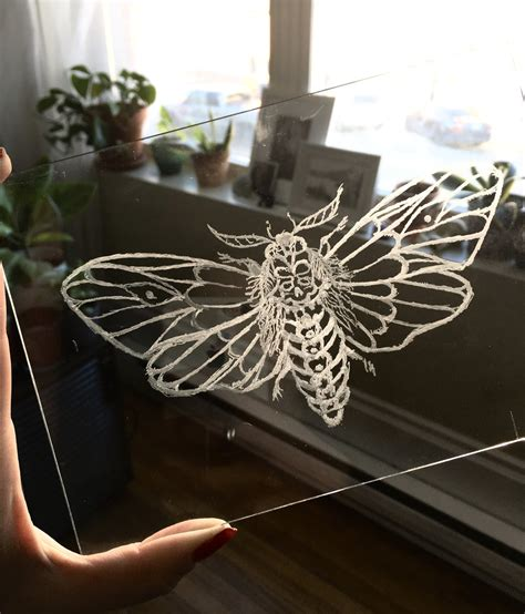 etching glass   dremel tool arts crafts ideas