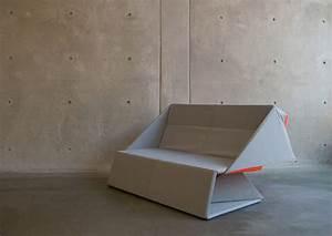 origami sofa par yumi yoshida blog deco design With canape pliable