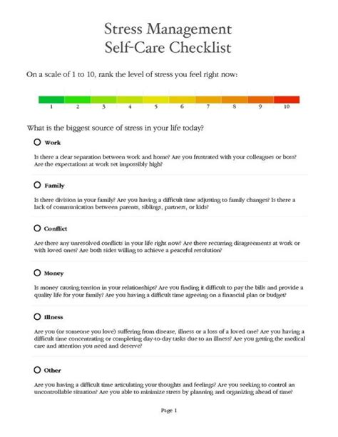stress management stress management worksheets stress management worksheet pdf stress
