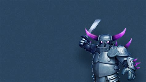 Fondos De Pantalla De Clash Royale Clash Of Clans Wallpaper Pekka By Creativebooom On Deviantart