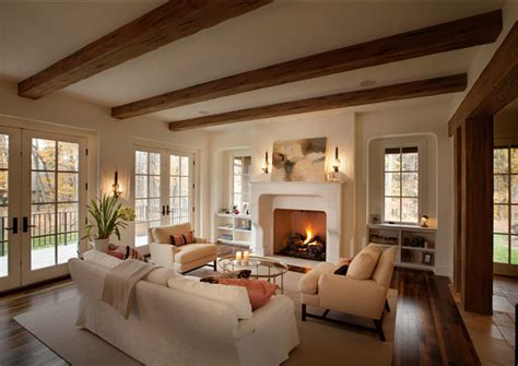 living rooms  exposed beams  steal  show
