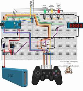 Playstation 2 Controller Wiring Diagram Of Playstation 2
