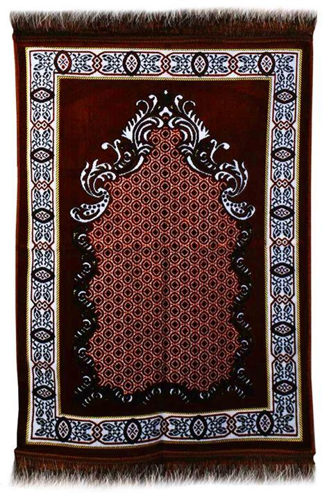 AYDIN Janamaz : Plush Velvet Muslim Prayer Rug From Turkey