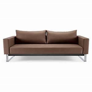 cassius sleek sofa bed lounger smartfurniturecom With sleek sofa bed