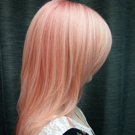 trendy pink hairstyles  spring  latest hair