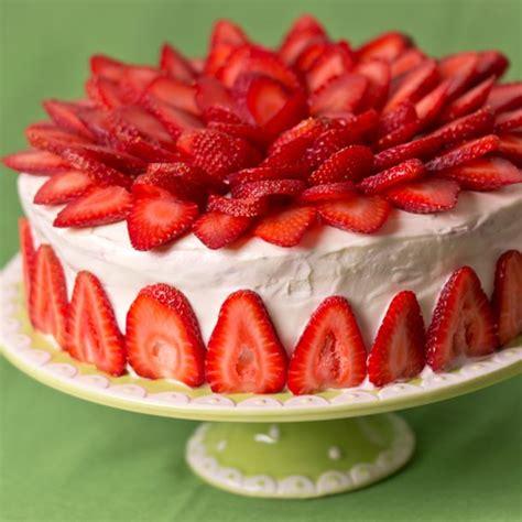 recette de cuisine de noel recette gâteau aux fraises