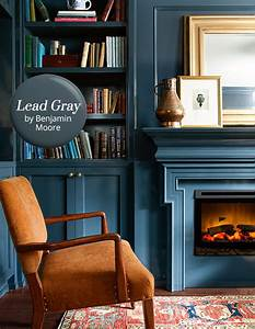 Paint Color Pick Lead Gray By Benjamin Moore