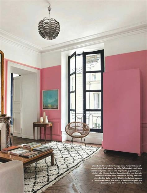 barbie pink wall paint color interiors  color