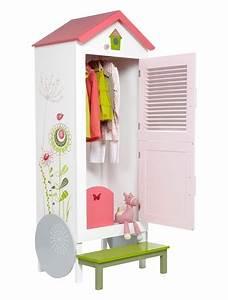 armoire roulotte fille avec penderie fleurs des champs With chambre bébé design avec livraison fleurs jour mϪme