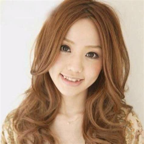 curly style hair    face japanese perm
