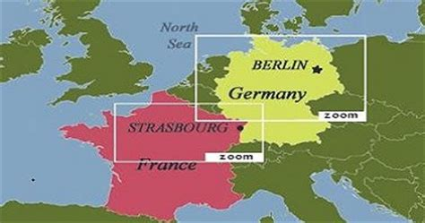 france germany map