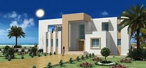 construire en tunisie avec les plans de maisons rawen avec With modele de maison a construire en tunisie
