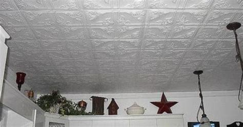 False Ceiling Tiles Menards by How To Hang Anaglypta Tile Paper And Ceilings