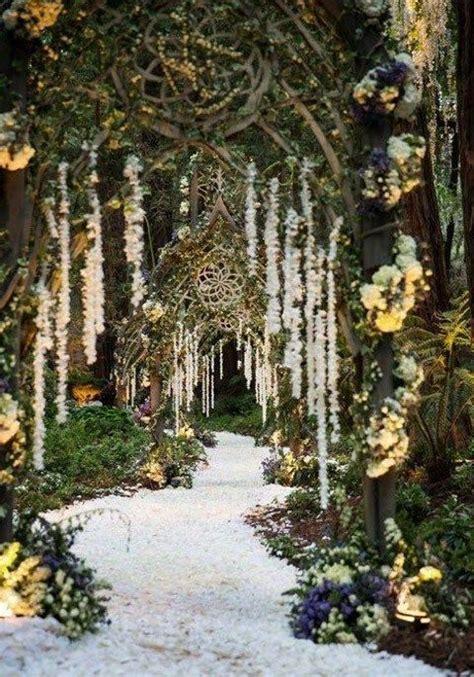 65 Romantic Enchanted Forest Wedding Ideas Wedding