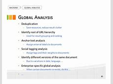 Enterprise Search in the Big Data Era Recent Developments