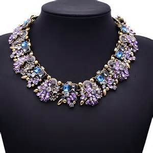Purple Diamond Collar
