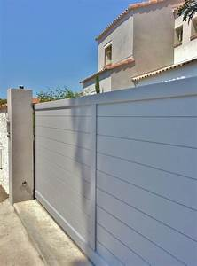 Portail Sur Mesure : portail aluminium coulissant sur mesure pose de ~ Melissatoandfro.com Idées de Décoration