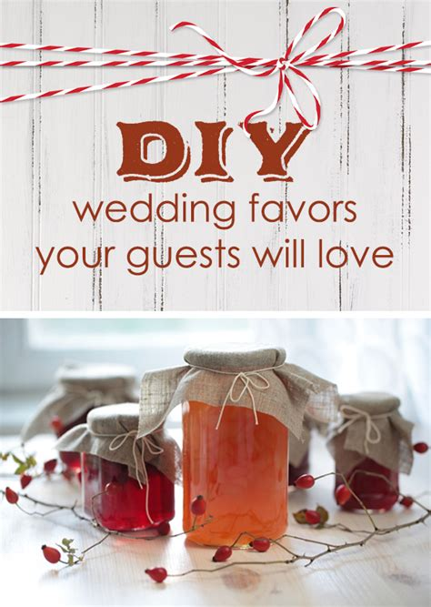 diy wedding favors your guests will love