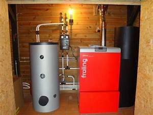 Chauffage A Pellet : installation chaudiere a pellet chauffage a granules bois ~ Edinachiropracticcenter.com Idées de Décoration