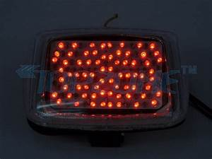 Led motorcycle tail light integrated turn signal for harley davidson v rod in brake lights from