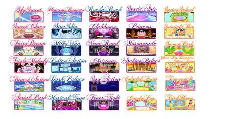 List of Stages - Aikatsu Wiki