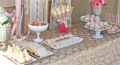 bridal shower dessert table guest feature celebrations at home